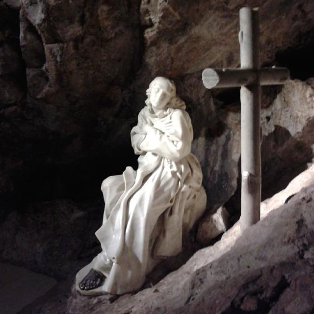 The Sacro Speco. Monastero S. Benedetto, Subiaco (Italy)