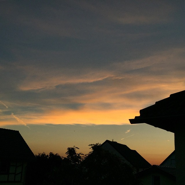Eifel-Abendhimmel.